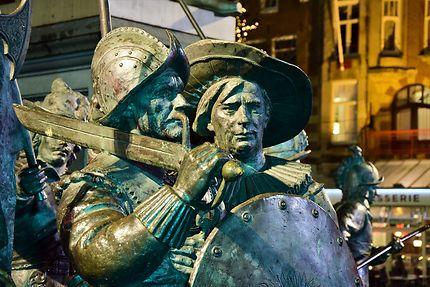 Statues de la Rembrandtplein