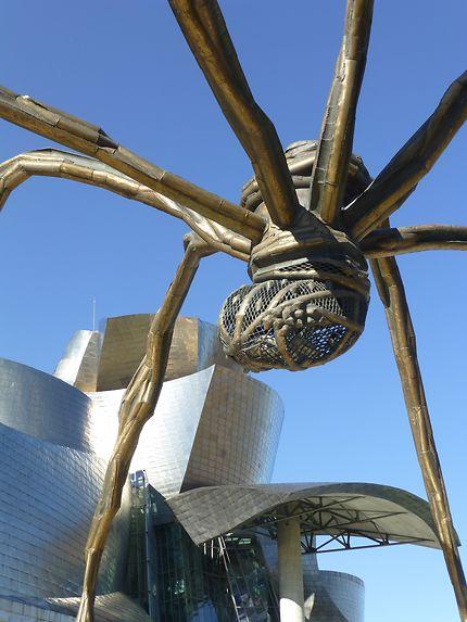 Peur sur le musée Guggenheim de Bilbao