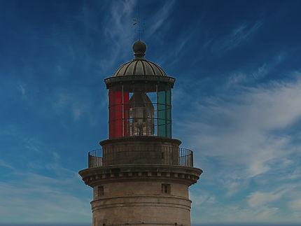 Partie haute du phare de Cordouan