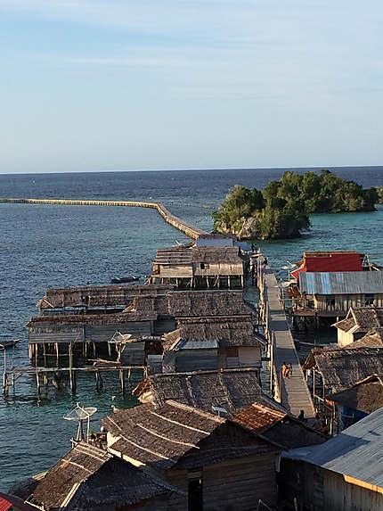 Malenge, îles togian
