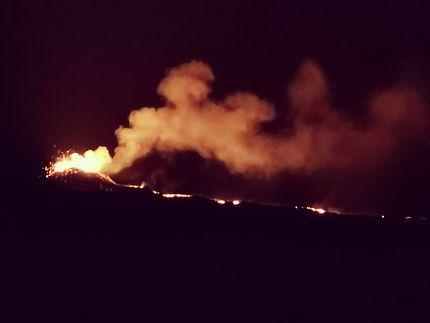 Éruption du Piton de la Fournaise, septembre 2018