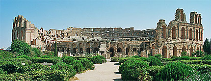 El-Djem, amphithéâtre
