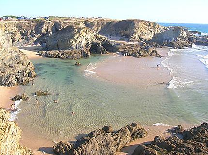 Belle plage cachée à Porto Covo