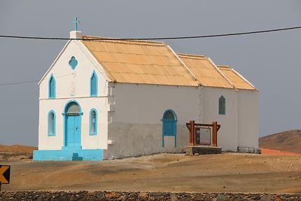 Petite église à Salines de Pedra de Lume