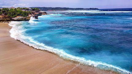Paradise Beach, île de Nusa Lembongan