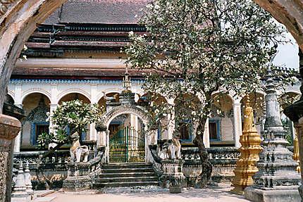 Entrée du Wat Bo
