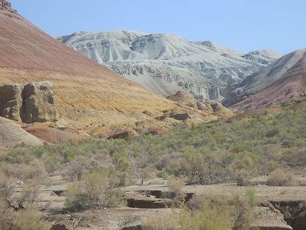Les couleurs des Montagnes d'Aktau