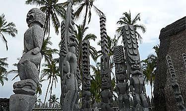 Pu'uhonua o Hônaunau National Historical Park (île d'Hawaii)