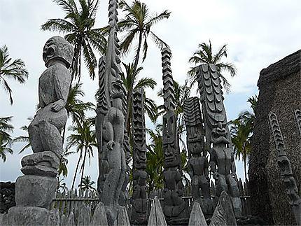 Tikis hawaïens