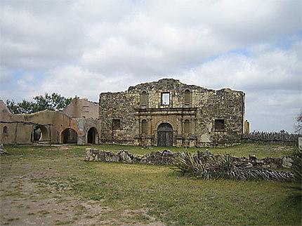 Décor du film Alamo, l'église