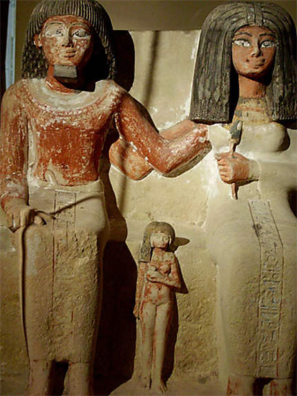 Famille égyptienne immigrée à Toulouse