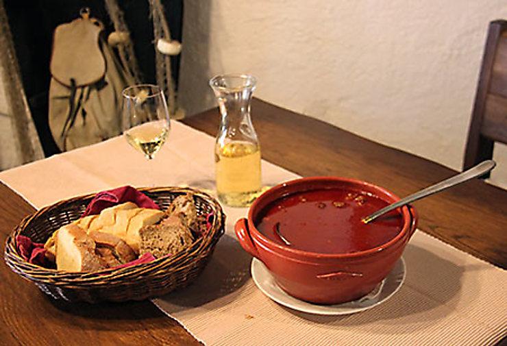 Gastronomie et vins de Slavonie