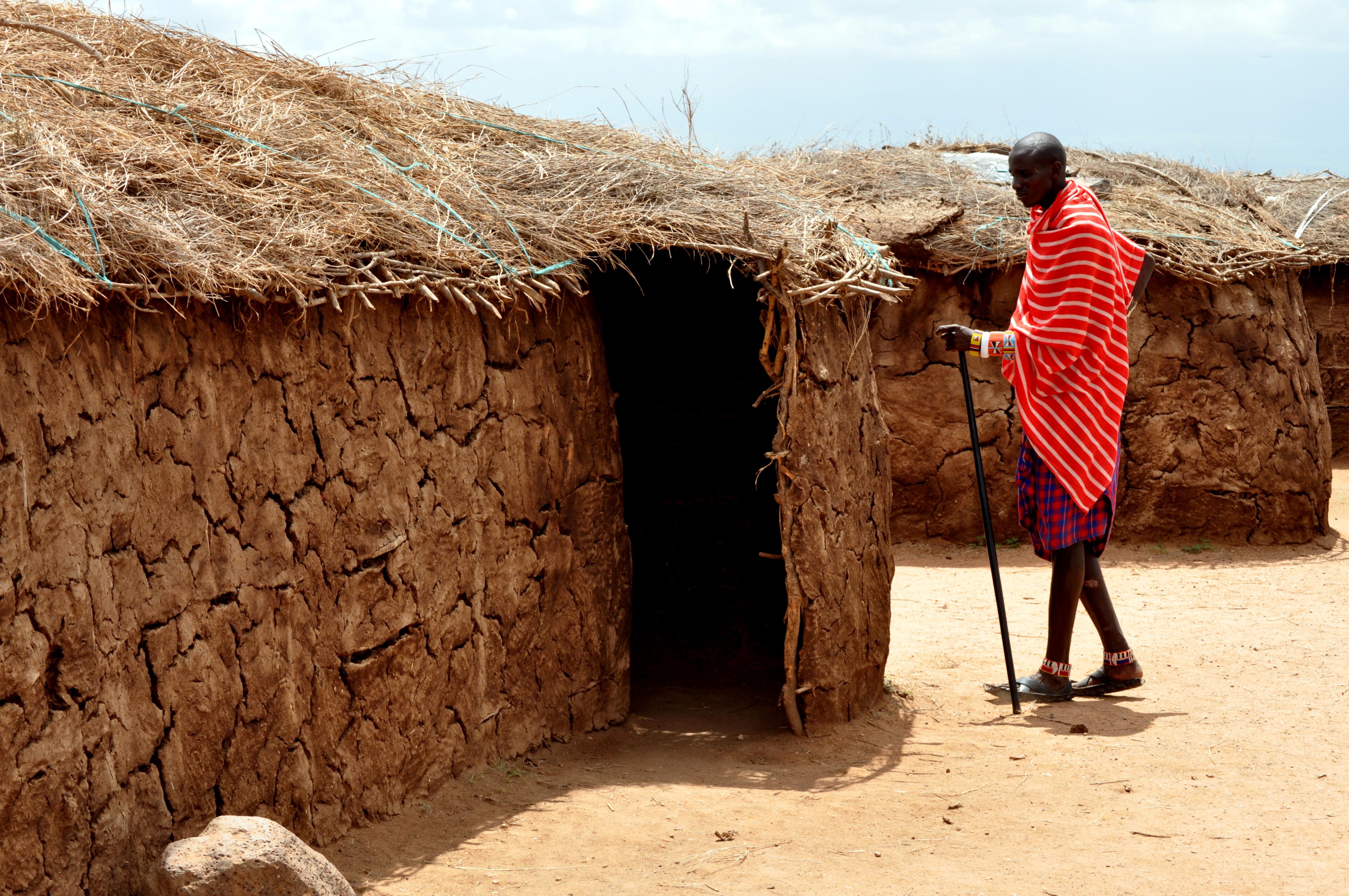 Plan D Une Case Africaine la case africaine : parc de tsavo : nairobi et le centre