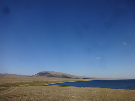Rives du Lac Song-Kol