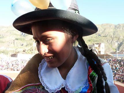 Jeune fille de Cotahuasi