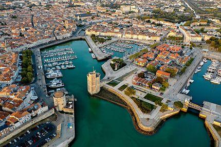 La Rochelle vue du ciel