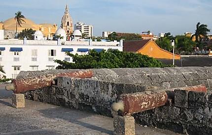 Cartagena et ses remparts
