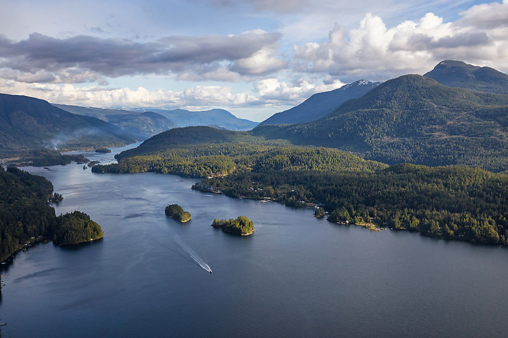 Canada : Sunshine Coast, la Colombie-Britannique côté mer