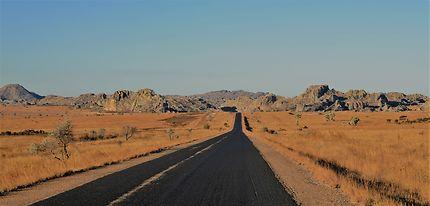 Colorado malgache, parc national de l'Isalo