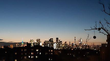 New-York, New-York... Quand la nuit tombe !