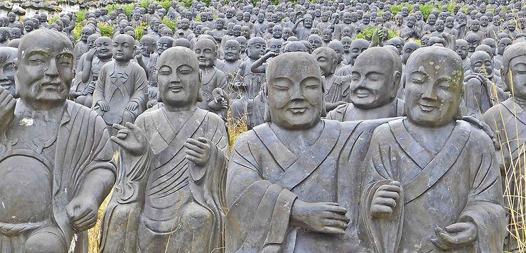 Joyeuse assemblée au parc Taiyo, Himeji, Japon