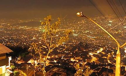 Nuit à Medellin
