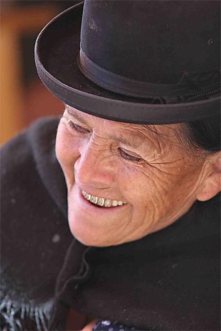 Portrait à La Paz
