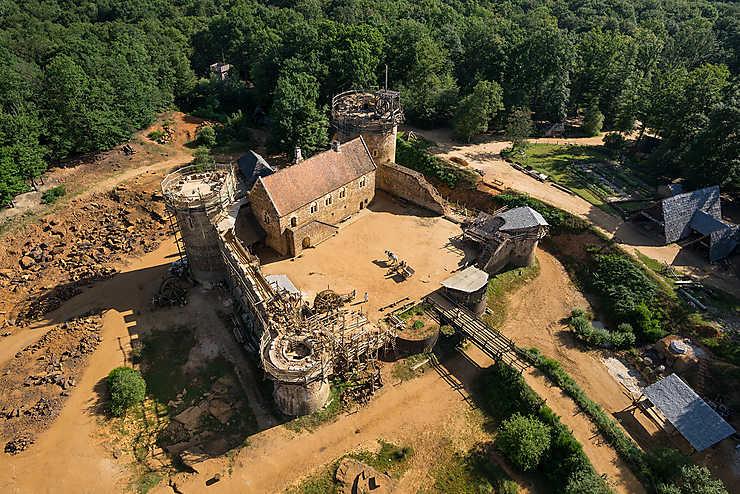 Chantier du château de Guédelon (Yonne)