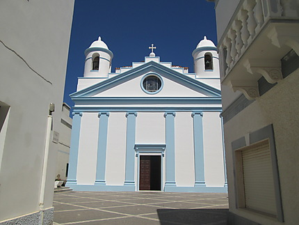 église de Calasetta sur l'île de sant antioco