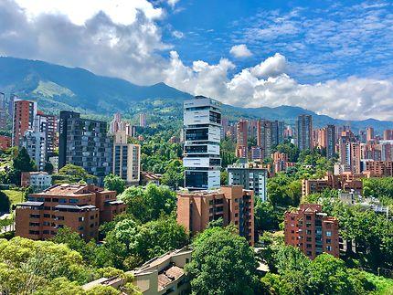 Le quartier El Poblado de Medellin