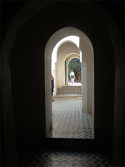 Porte intérieure du Palais Bahia