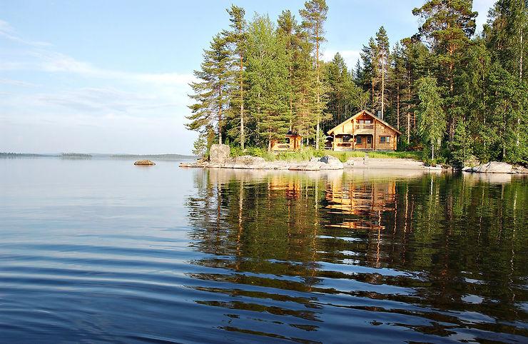 Finlande - Des vacances dans un chalet d'été au bord de l'eau