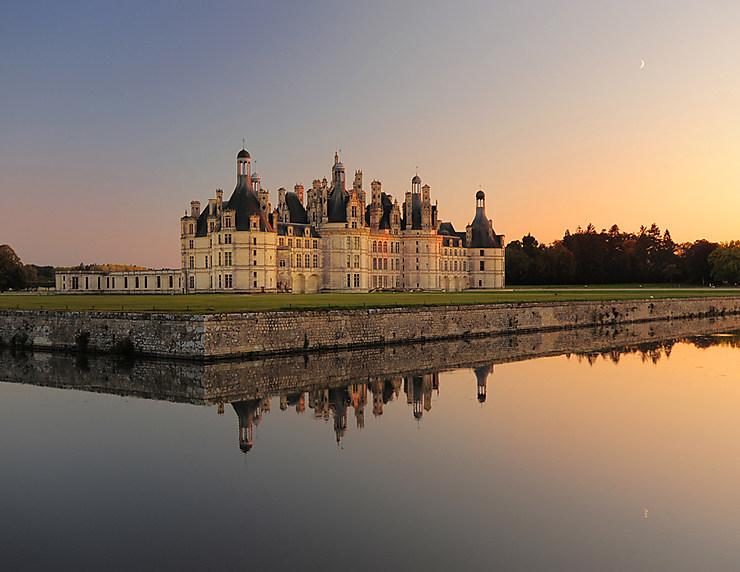 Val de Loire - Chambord : les jardins à la française enfin restaurés