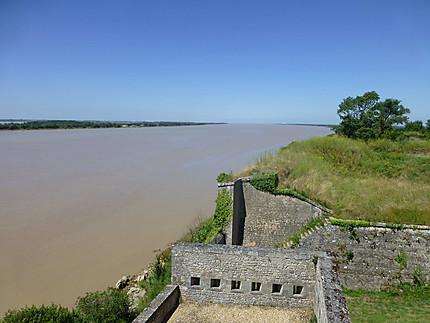 Vue depuis les remparts de la citadelle