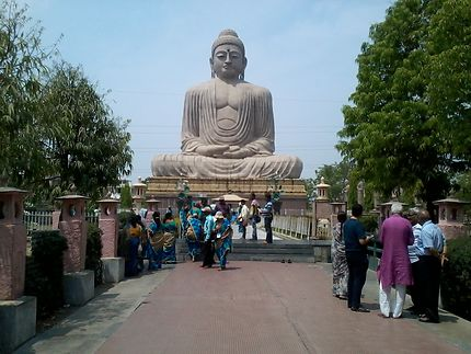 Bodhgaya - Le  Grand Bouddha
