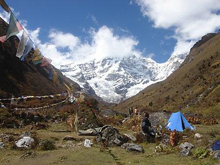 Chomolhari Base Camp
