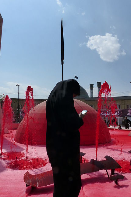 Le sang des martyrs, Zanjan, Iran
