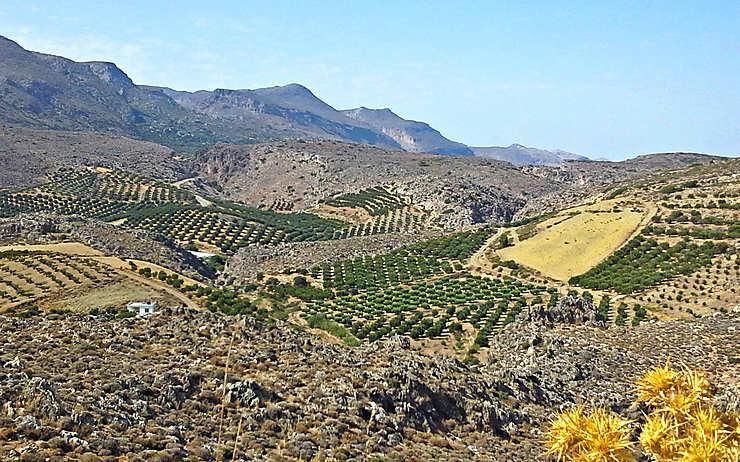La Crète orientale, une terre de légendes