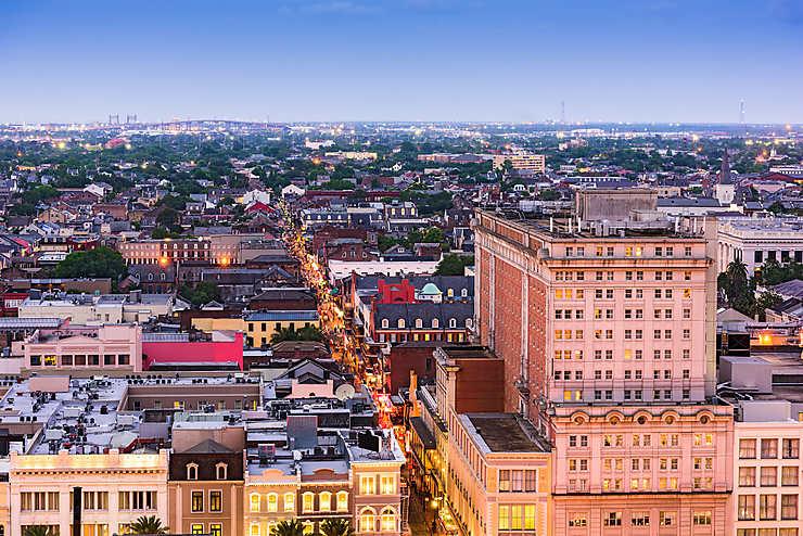 La Nouvelle-Orléans et la Louisiane en fête
