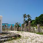 Totems en baie de Saint-Maurice