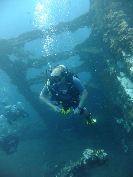 Plongée sur l'épave de l'USS Liberty à Bali