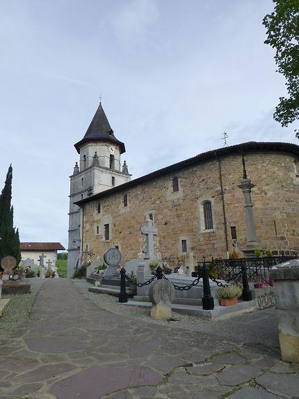 Eglise du village d'Ainhoa