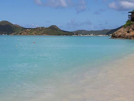Plage à Antigua