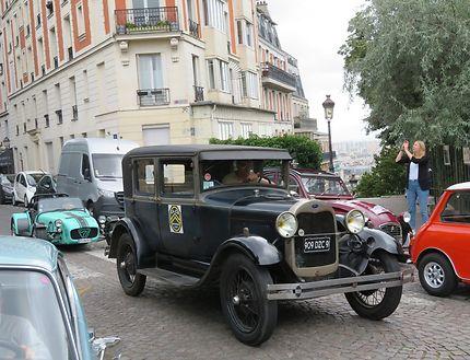 14e Traversée de Paris des véhicules anciens