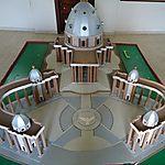 Maquette de la Basilique