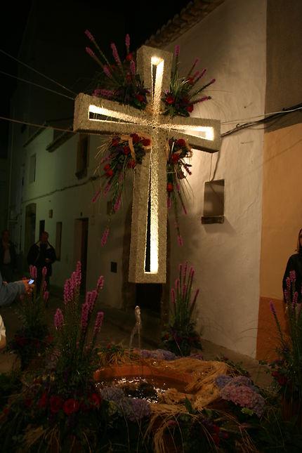 Fête des croix à Javea