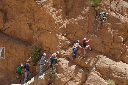 Escalade Gorges Todgha
