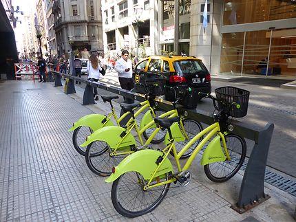 Les vélos en libre service