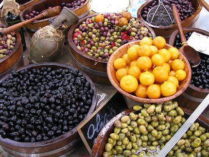 Des olives en Grèce