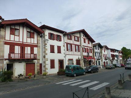 Rue principale à Ainhoa